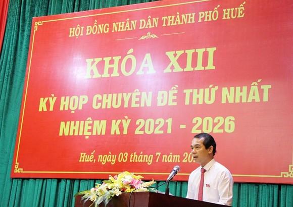 Ông Võ Lê Nhật được bầu làm Chủ tịch UBND thành phố Huế ảnh 1