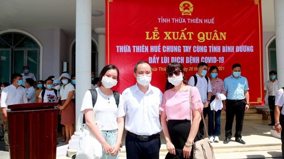 Đoàn y, bác sĩ Thừa Thiên - Huế vào Bình Dương hỗ trợ chống dịch Covid-19 ảnh 3