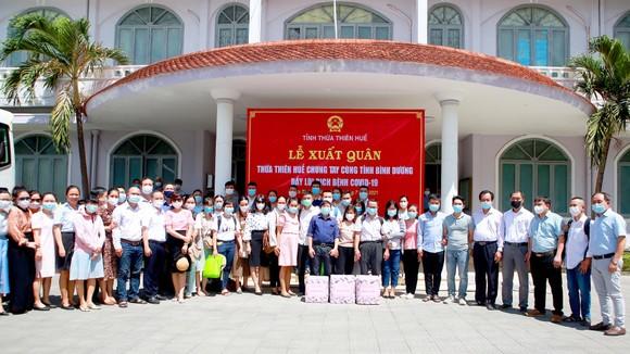 Đoàn y, bác sĩ Thừa Thiên - Huế vào Bình Dương hỗ trợ chống dịch Covid-19 ảnh 2