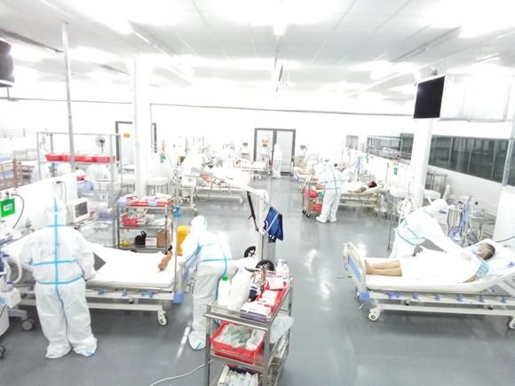 Trung tâm Hồi sức Covid-19 Trung ương Huế tại TPHCM đi vào hoạt động từ ngày 24-8 ảnh 8
