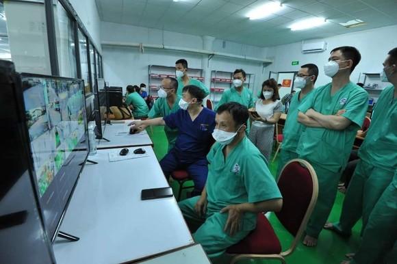 Trung tâm Hồi sức Covid-19 Trung ương Huế tại TPHCM đi vào hoạt động từ ngày 24-8 ảnh 9