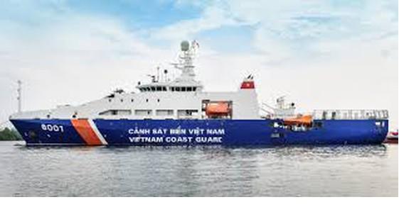 Tàu Cảnh sát biển Việt Nam. Ảnh minh họa