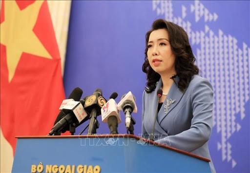 Người Phát ngôn Bộ Ngoại giao Việt Nam Lê Thị Thu Hằng. Ảnh: TTXVN