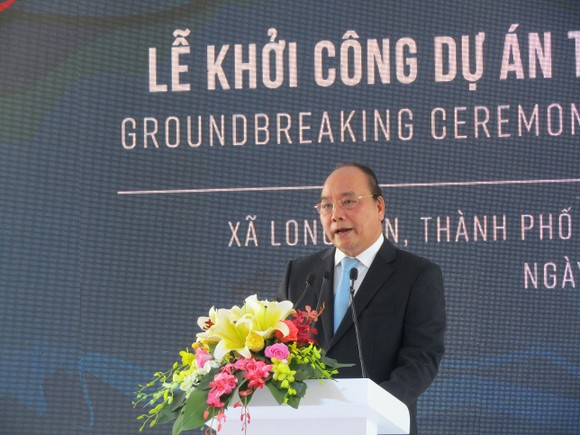 Thủ tướng Nguyễn Xuân Phúc phát lệnh khởi công Dự án Tổ hợp hóa dầu miền Nam ảnh 1