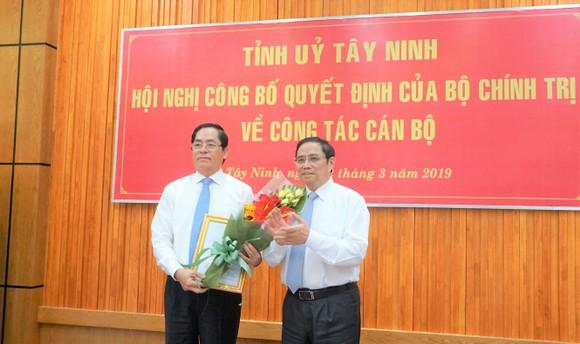 Ông Phạm Viết Thanh giữ chức Bí Thư Tỉnh ủy Tây Ninh ảnh 1