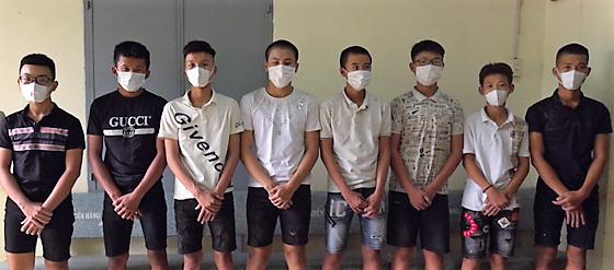 Ngăn chặn kịp thời nhóm thanh thiếu niên chuẩn bị hỗn chiến  ảnh 1