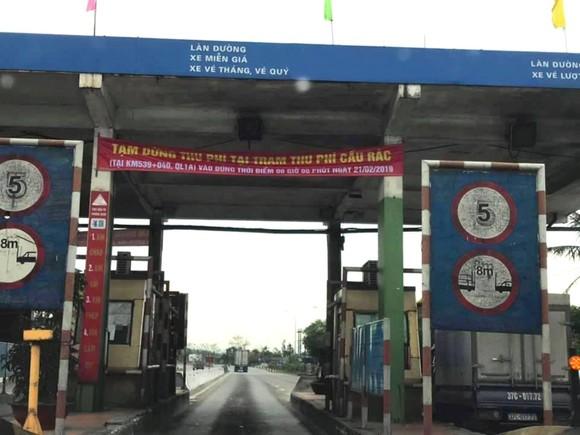Sáng nay đã tạm dừng thu phí trạm Cầu Rác trên quốc lộ 1A ở Hà Tĩnh ảnh 2
