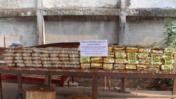 Phá đường dây vận chuyển 60kg ma túy tổng hợp, 240.000 viên hồng phiến từ Lào về Việt Nam ảnh 2
