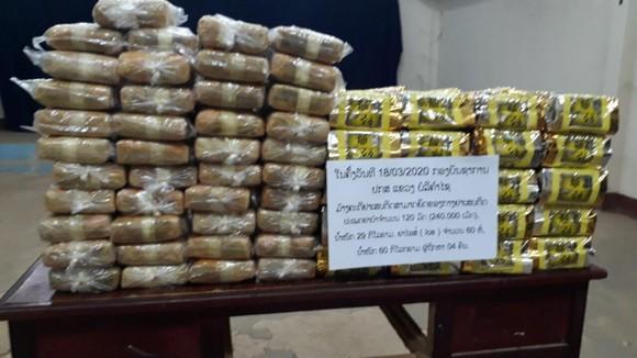 Phá đường dây vận chuyển 60kg ma túy tổng hợp, 240.000 viên hồng phiến từ Lào về Việt Nam ảnh 1