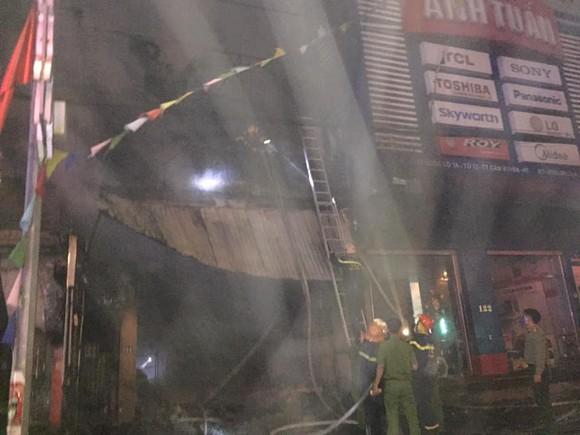Cháy cửa hàng sửa chữa, kinh doanh thiết bị ô tô khiến 2 người tử vong ảnh 2