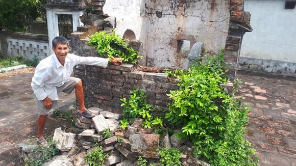 Di tích đình Hội Thống và đình làng Trường Lưu ở Hà Tĩnh hư hỏng nặng ảnh 1