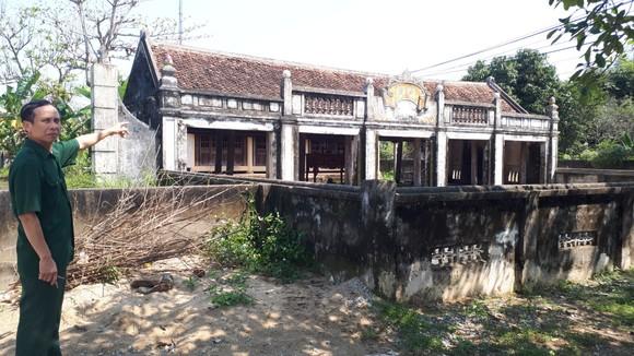 Di tích đình Hội Thống và đình làng Trường Lưu ở Hà Tĩnh hư hỏng nặng ảnh 9