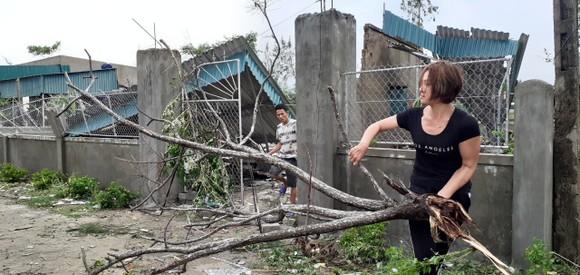 Lốc xoáy gây thiệt hại hàng tỷ đồng ở hai xã ven biển Hà Tĩnh ảnh 10