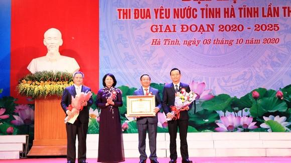 Phó Chủ tịch nước Đặng Thị Ngọc Thịnh dự Đại hội Thi đua yêu nước tỉnh Hà Tĩnh  ảnh 2