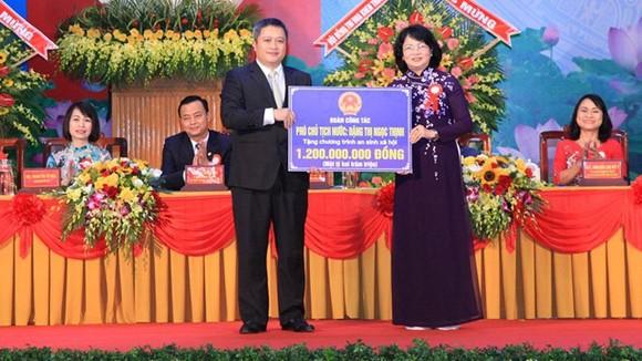 Phó Chủ tịch nước Đặng Thị Ngọc Thịnh dự Đại hội Thi đua yêu nước tỉnh Hà Tĩnh  ảnh 3