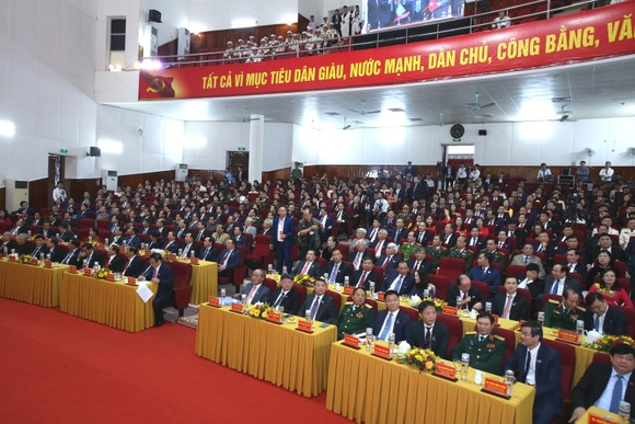 Khai mạc Đại hội đại biểu Đảng bộ tỉnh Hà Tĩnh lần thứ XIX ảnh 2