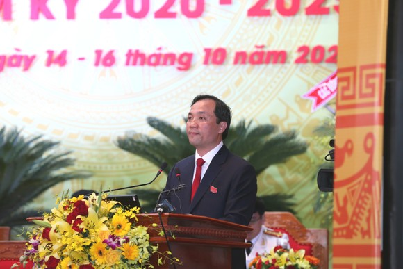 Khai mạc Đại hội đại biểu Đảng bộ tỉnh Hà Tĩnh lần thứ XIX ảnh 3