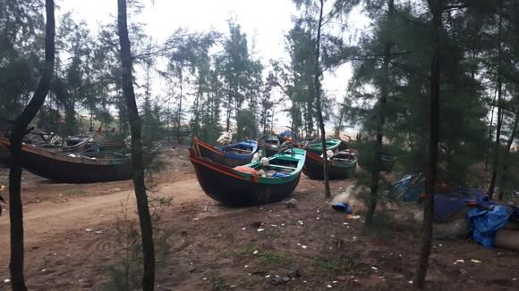 Ngư dân Hà Tĩnh gấp rút đưa tàu thuyền vào nơi tránh trú trước bão số 8 ảnh 7