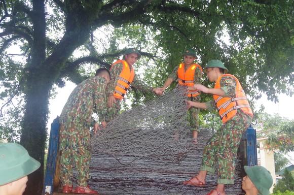 Huy động lực lượng kịp thời gia cố sạt lở bờ sông ở Hà Tĩnh ảnh 4