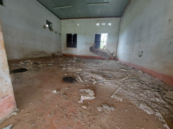 Hoang tàn nơi từng là Trung tâm Phục hồi chức năng và dưỡng sinh Võ Hoàng Yên ở Hà Tĩnh ảnh 26