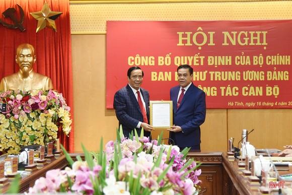 Giám đốc Công an tỉnh Nghệ An được điều động giữ chức Phó Bí thư Tỉnh ủy Hà Tĩnh ảnh 1
