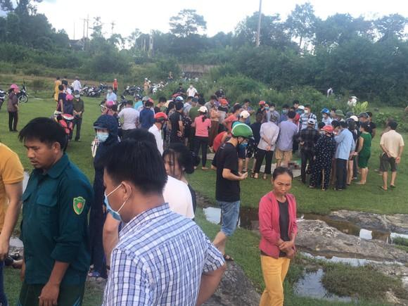 Khu vực gần hiện trường xảy ra vụ tai nạn đuối nước thương tâm