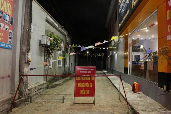 Khu vực phong tỏa phòng chống dịch Covid-19 tại thị trấn Cẩm Xuyên, huyện Cẩm Xuyên, tỉnh Hà Tĩnh
