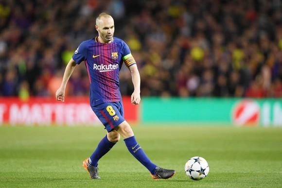 Iniesta được cho là chuyển đến Trung Quốc. Ảnh: Getty Images