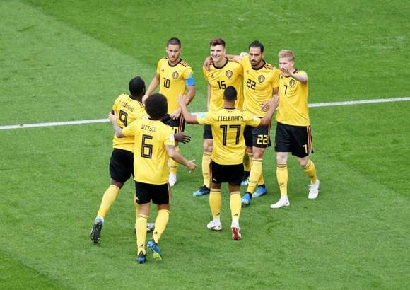 Tuyển Bỉ đã thay đổi lịch sử với hạng 3 World Cup 2018. Ảnh: Getty Images
