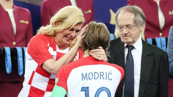 """Tổng thống Croatia: """"Dù thế nào chăng nữa, chúng tôi vẫn là nhà vô địch"""" ảnh 1"""