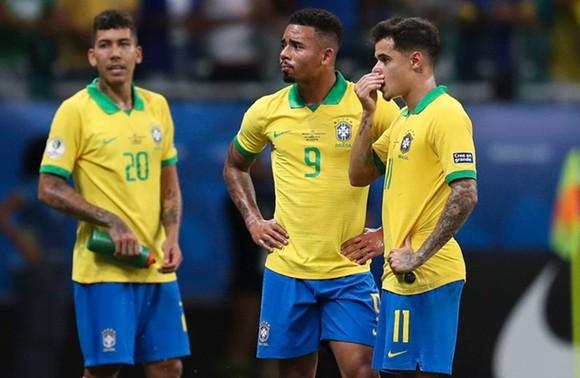 """Ba ngôi sao tấn công đã khiến người hâm mộ Brazil 3 lần """"mừng hụt"""". Ảnh: Getty Images"""