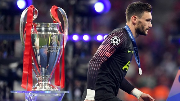 Hugo Lloris tin rằng Tottenham vẫn chưa đạt đến đẳng cấp có thể đặt mục tiêu vô địch Champions League. Ảnh: Getty Images