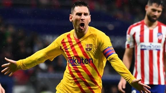 Messi ghi tuyệt phẩm, Barca khuất phục chủ nhà Atletico ảnh 1