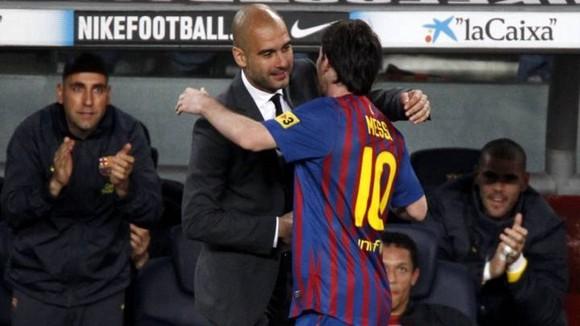 Muốn tái hợp Lionel Messi hay không phụ thuộc vào Pep Guardiola. Ảnh: Getty Images