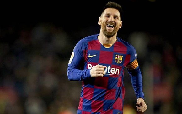 Lionel Messi chạm cột mốc ghi 50 bàn trong năm tứ 6 liên tiếp. Ảnh: Getty Images
