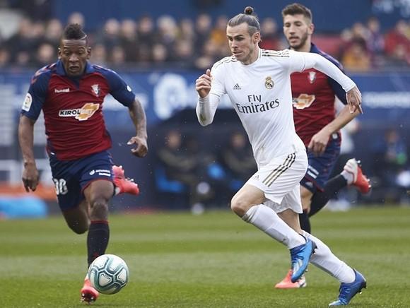 Gareth Bale trở lại đội hình khi Real Madrid thắng dễ Osasuna. Ảnh: Getty Images