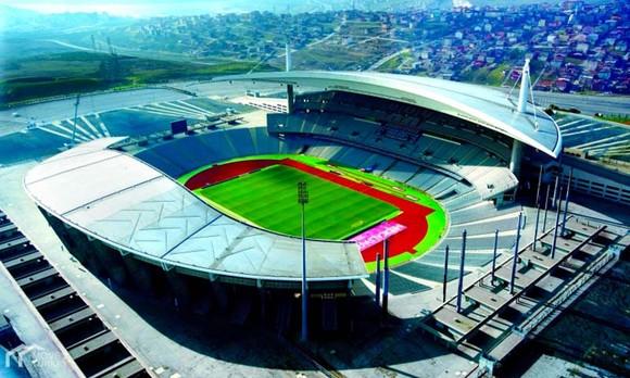 Sân Olympic Ataturk tại Istanbul (Thổ Nhĩ Kỳ).