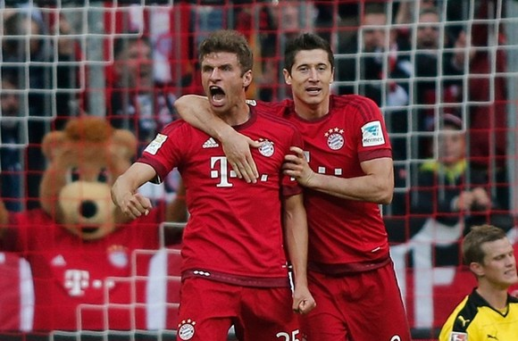 Bayern thắng Bundesliga thứ 8 liên tiếp ảnh 1