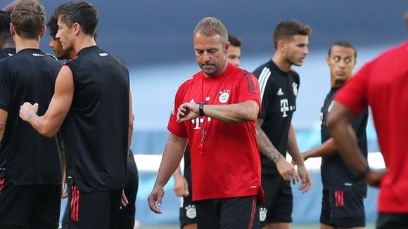 HLV Hansi Flick rất tự tin vào năng lực của Bayern. Ảnh: Getty Images