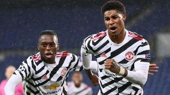 Marcus Rashford một lần nữa ghi bàn quyết định giúp Man.United đánh bại Paris SG. Ảnh: Getty Images