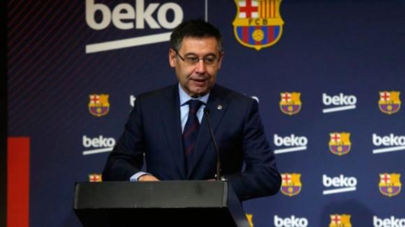Josep Maria Bartomeu đã từ chức Chủ tịch Barcelona vào thứ ba. Ảnh: Getty Images