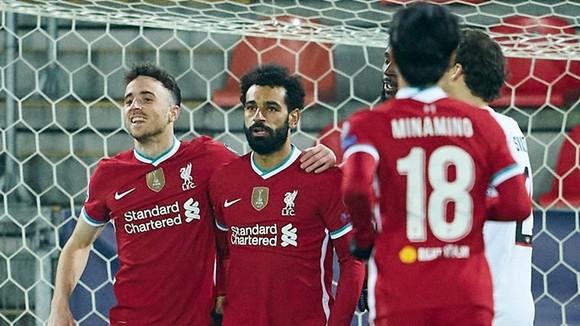 Mohamed Salah trở thành chân sút số 1 của Liverpool tại Champions League. Ảnh: Getty Images