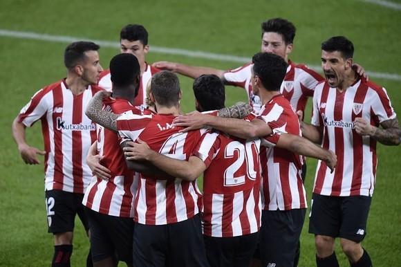 Athletic Bilbao đã gây sốc khi loại bỏ nhà vô địch Real Madrid.