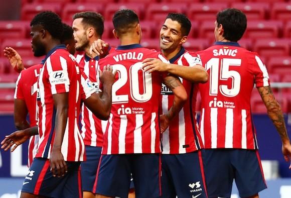 Atletico Madrid vẫn quá tập trung và ổn định ở mùa giải này. Ảnh: Getty Images