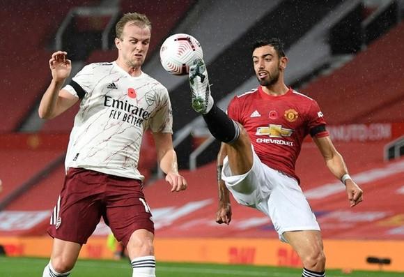 Arsenal đối đầu Man.United và tâm điểm Bruno Fernandes ảnh 1