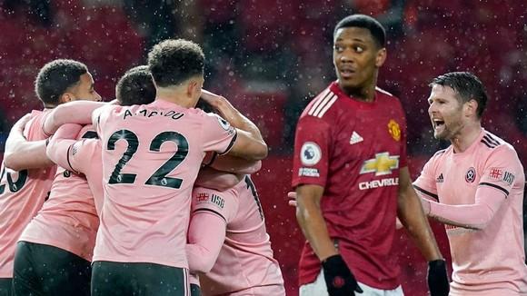 Man.United đã chịu thất bại đáng tiếc trước Sheffield United. Ảnh: Getty Images