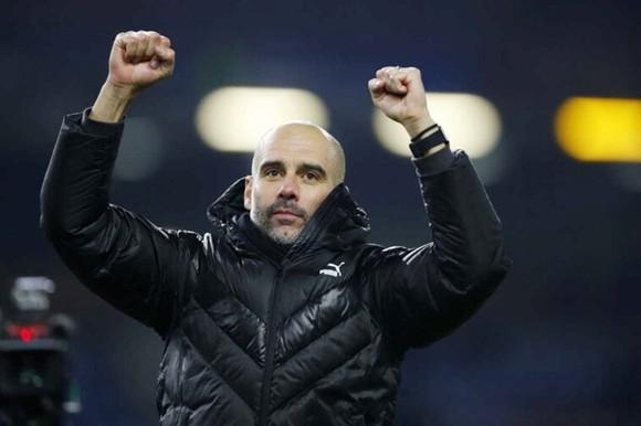 Pep Guardiola tin rằng Man.City còn có thể tốt hơn. Ảnh: Getty Images