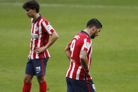 Các ngôi sao tấn công của Atletico Madrid hối tiếc vì sự hoang phí cơ hội.