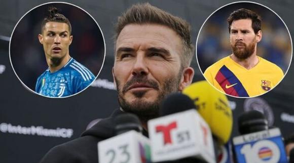 David Beckham mơ về ngày sở hữu những siêu sao như Lionel Messi và Cristiano Ronaldo.