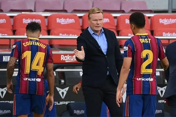 HLV Ronald Koeman thật sự đang làm tốt tại Barca.